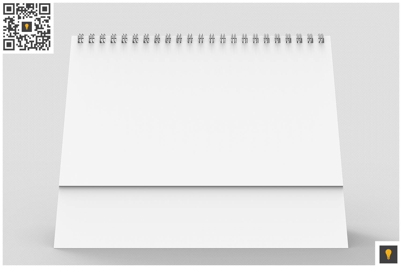 Desktop Calendar 3D Render example image 3