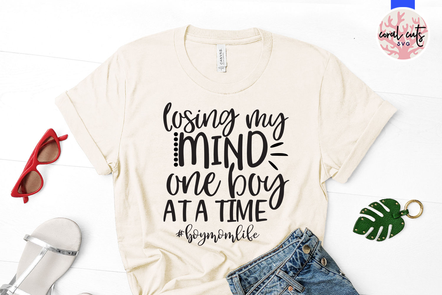 Losing my mind one boy at a time - Mother SVG EPS DXF PNG example image 2