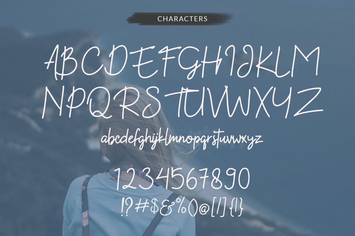 Kekasih - Shophisticated Signature Font example image 7