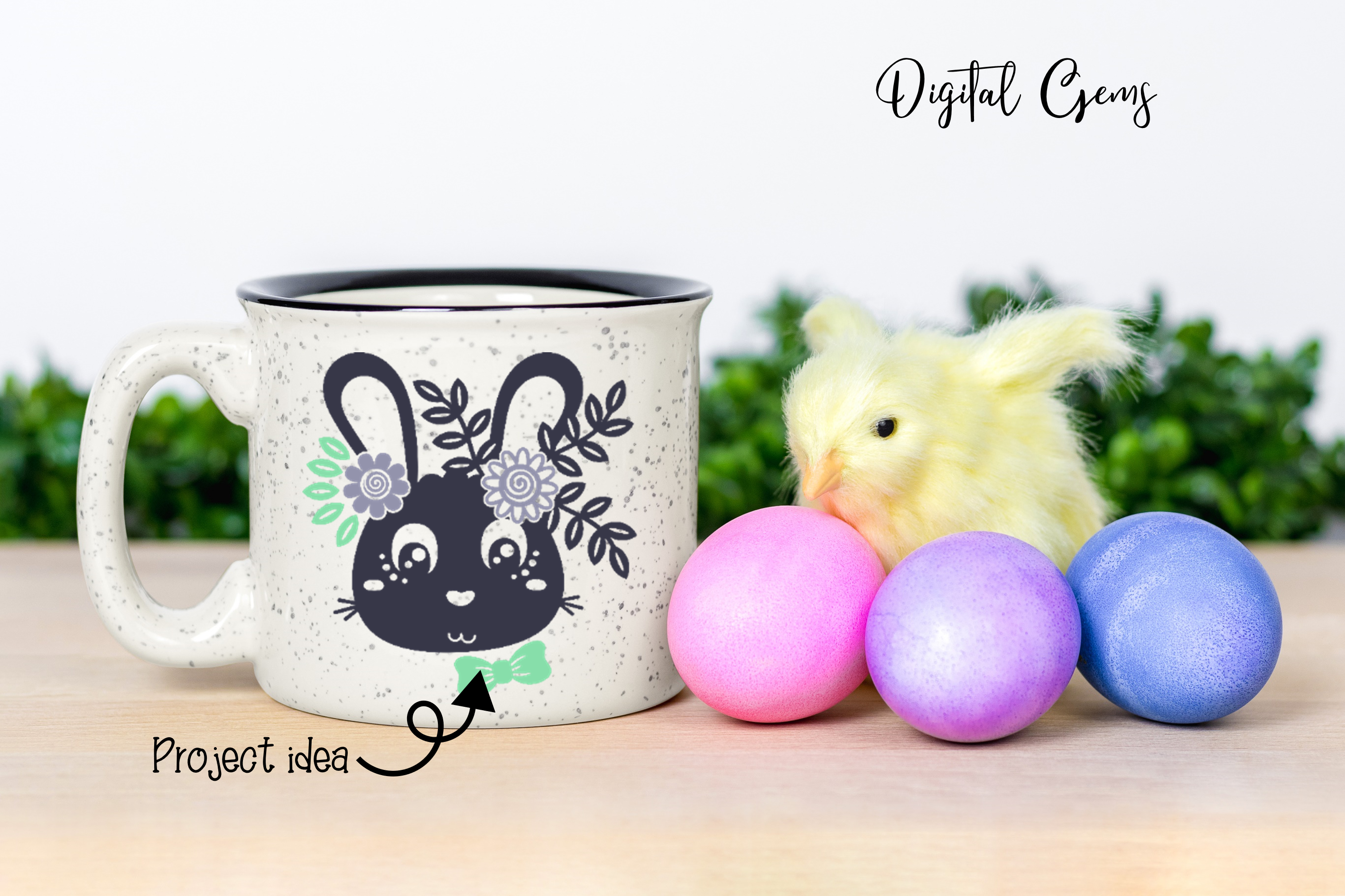 Easter Bundle SVG / DXF / EPS / PNG files example image 7