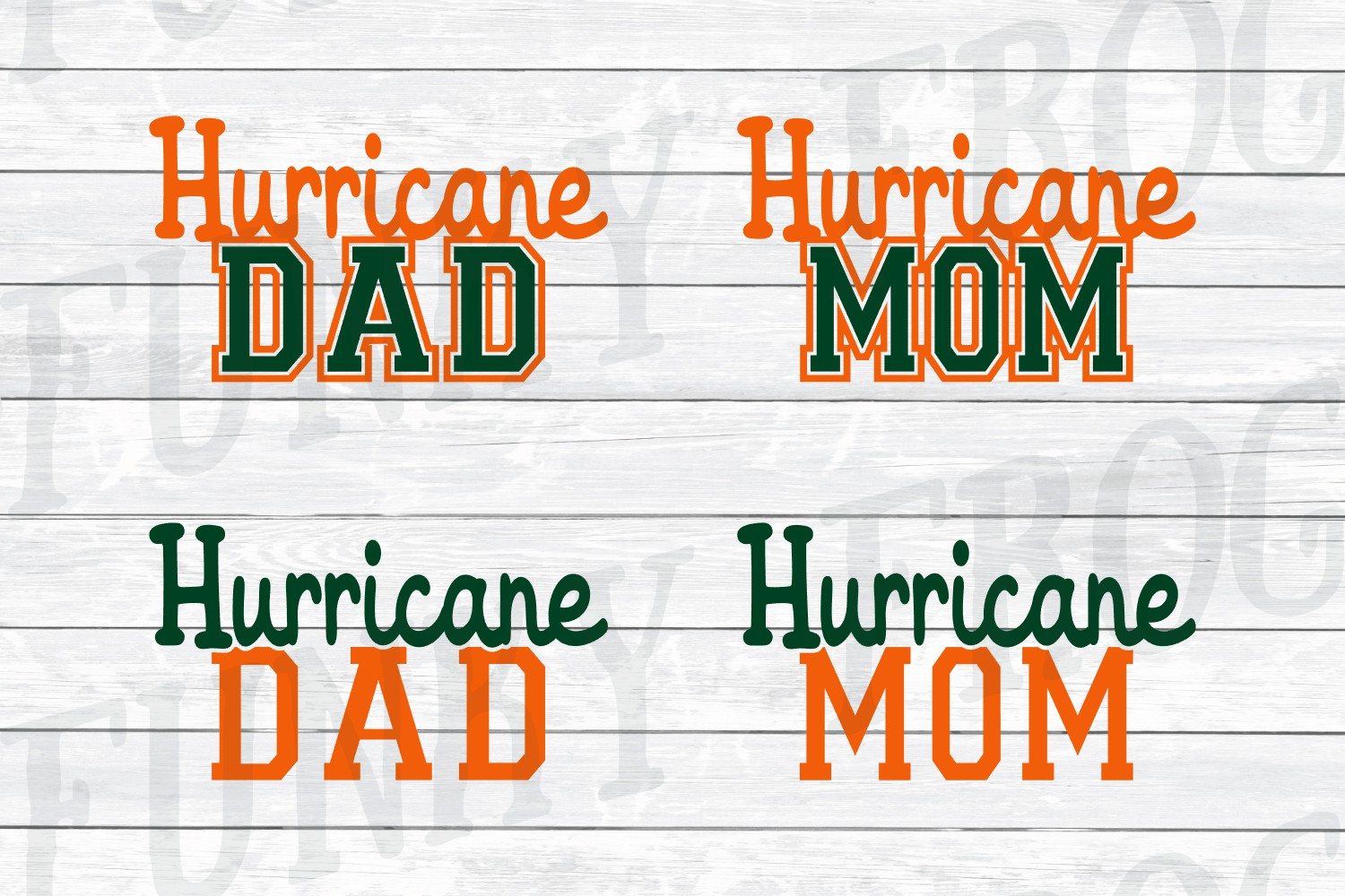 Florida Universities Mom and Dad SVG Cut File Bundle for Cra example image 5
