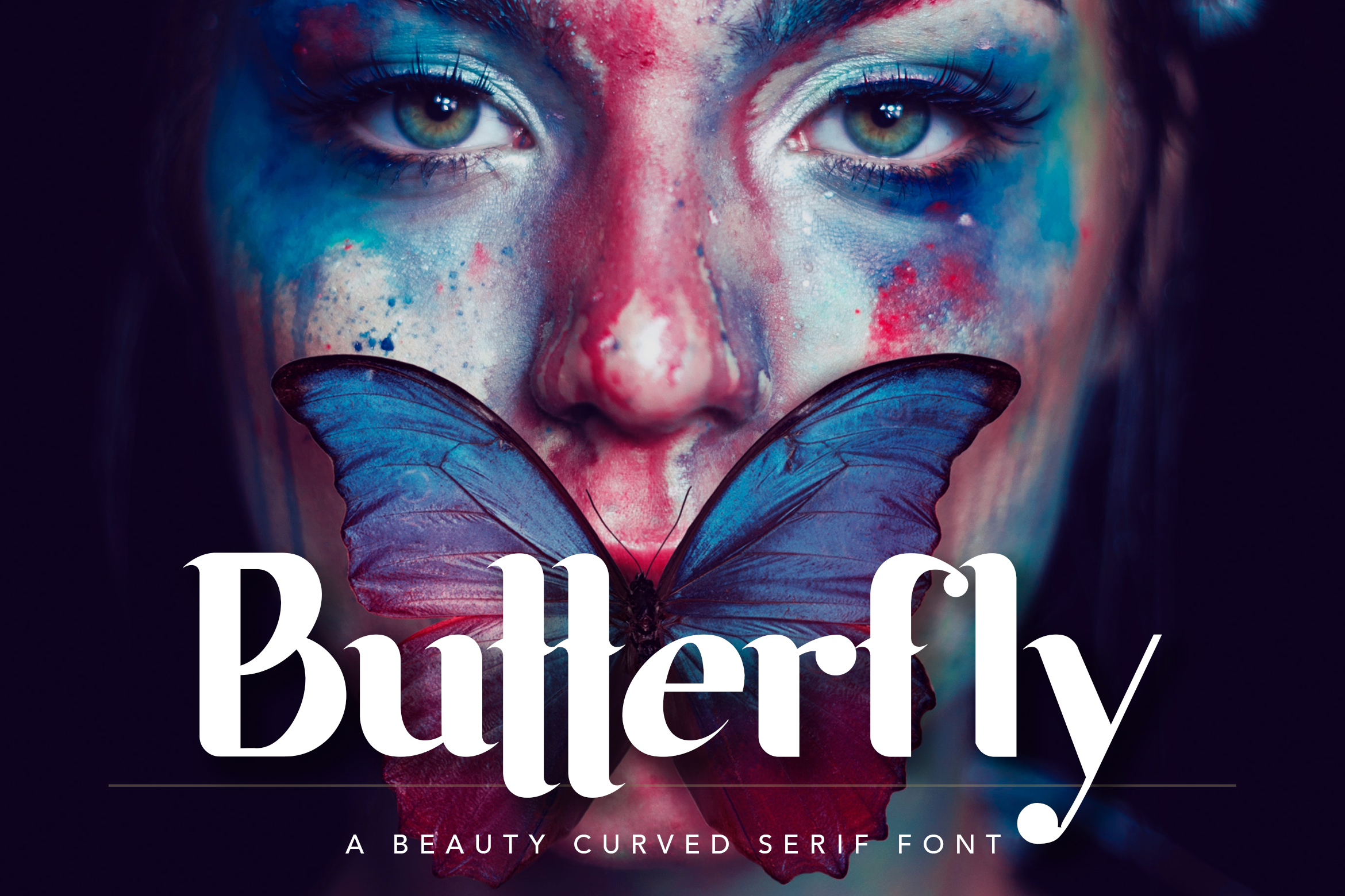 Butterfly Beauty Font example image 1