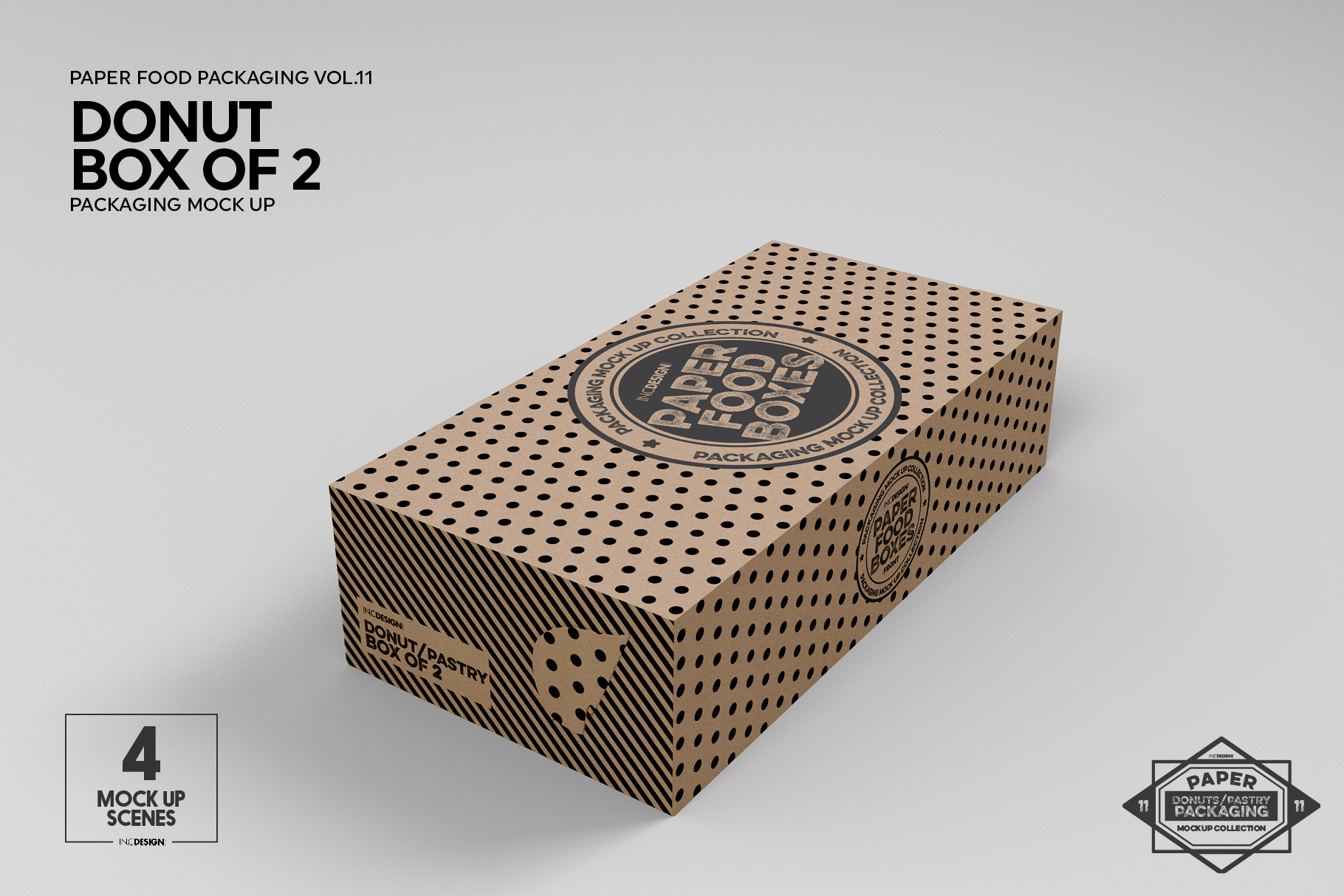 VOL.11 Food Box Packaging MockUps example image 15