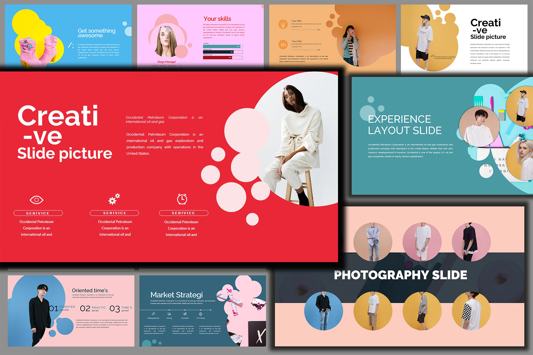 Velvety Fashion Google Slides Presentation example image 2
