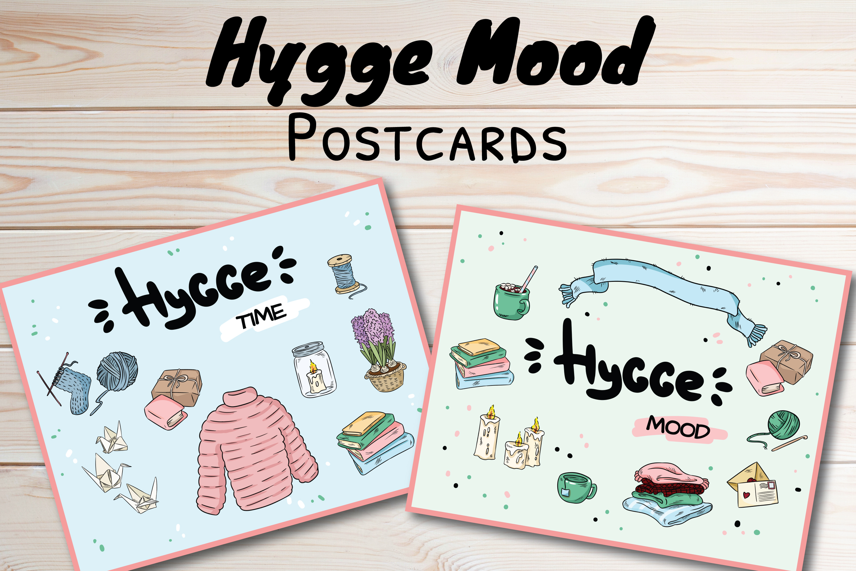 Hygge Mood Postcards example image 1