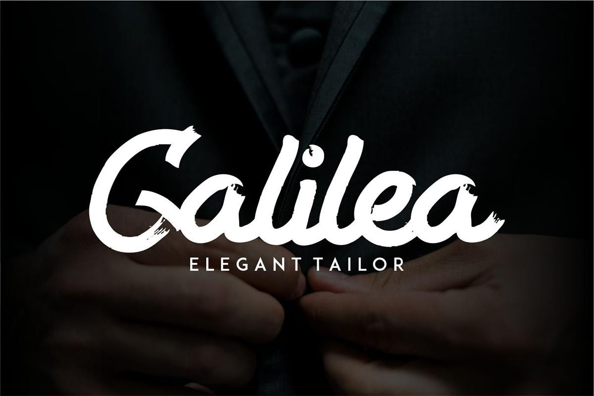 Alkilri | Brush Script Font example image 4