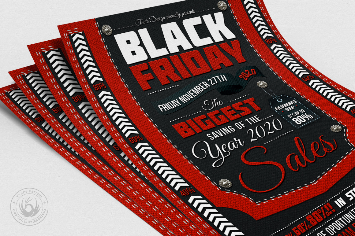 Black Friday Flyer Template example image 5