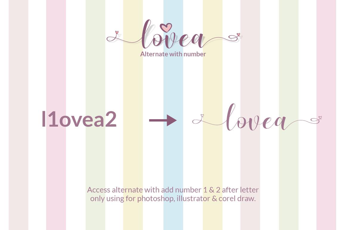 Lovea Script example image 7