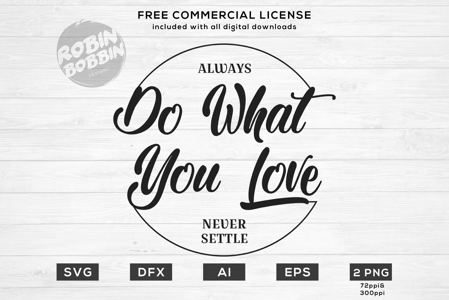 Always Do What You Love Design for T-Shirt, Hoodies example image 1