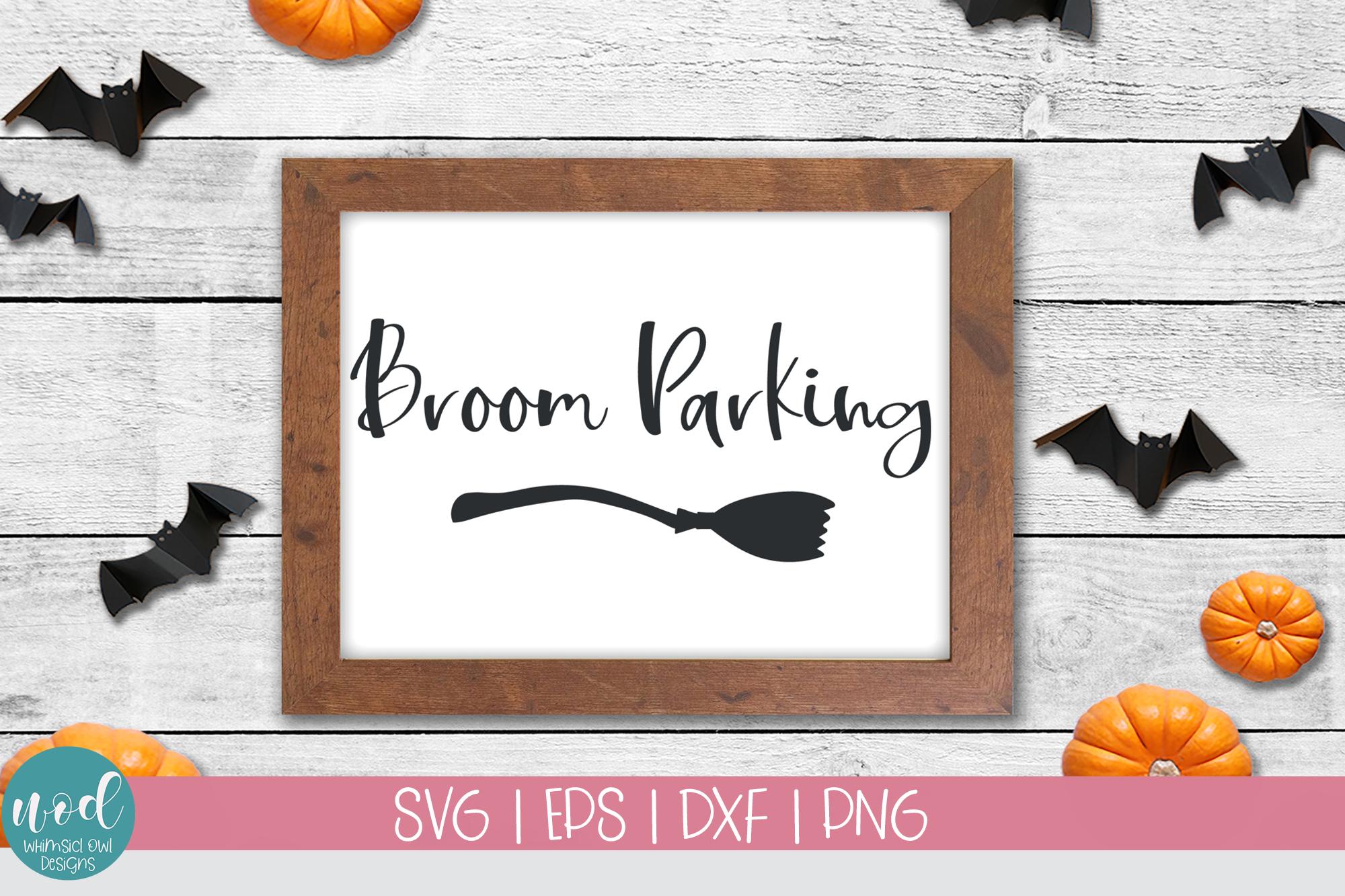 Broom Parking SVG File example image 3
