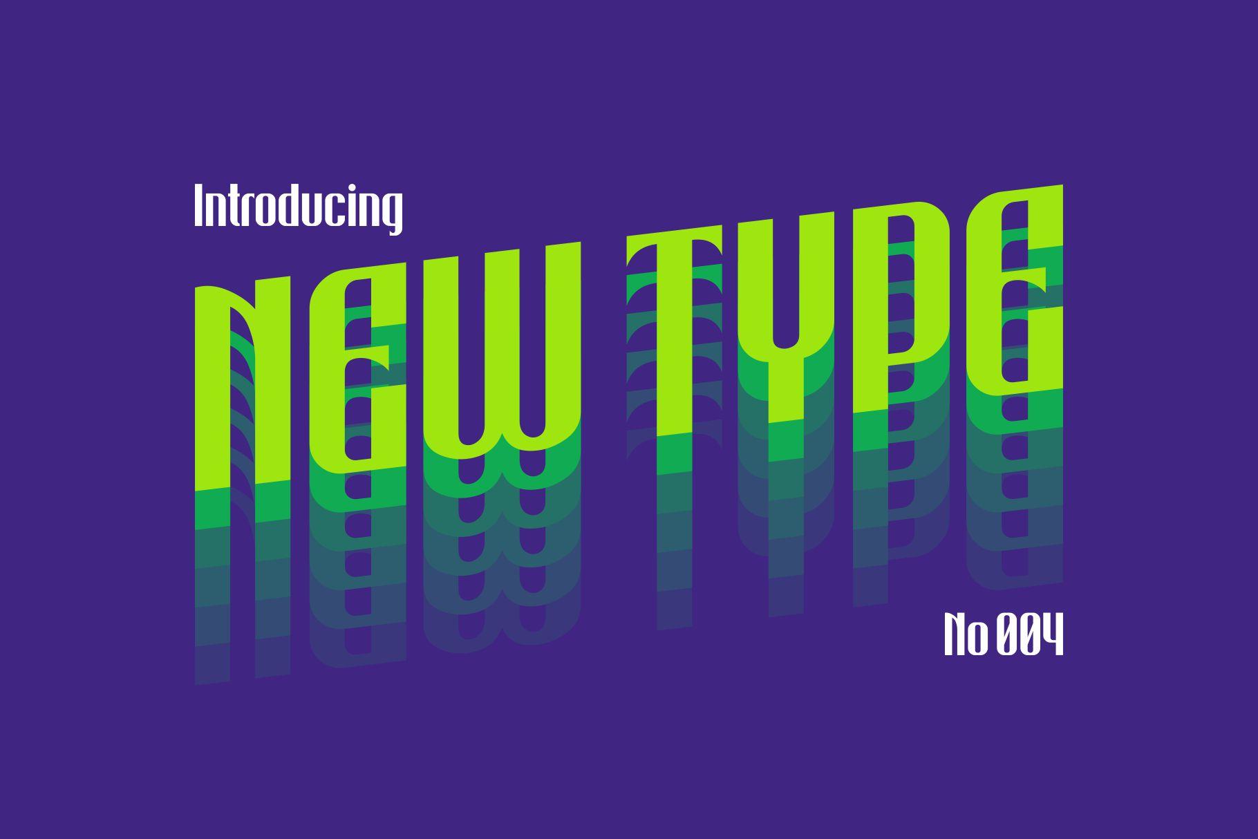 Bigiebang Condensed Font example image 2