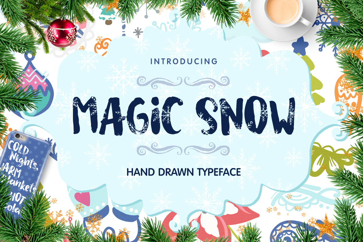 Magic Snow - Christmas Typeface example image 1