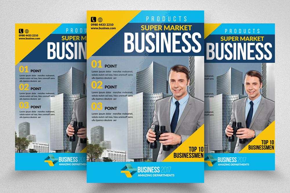 10 Multi Use Business Flyers Bundle example image 7