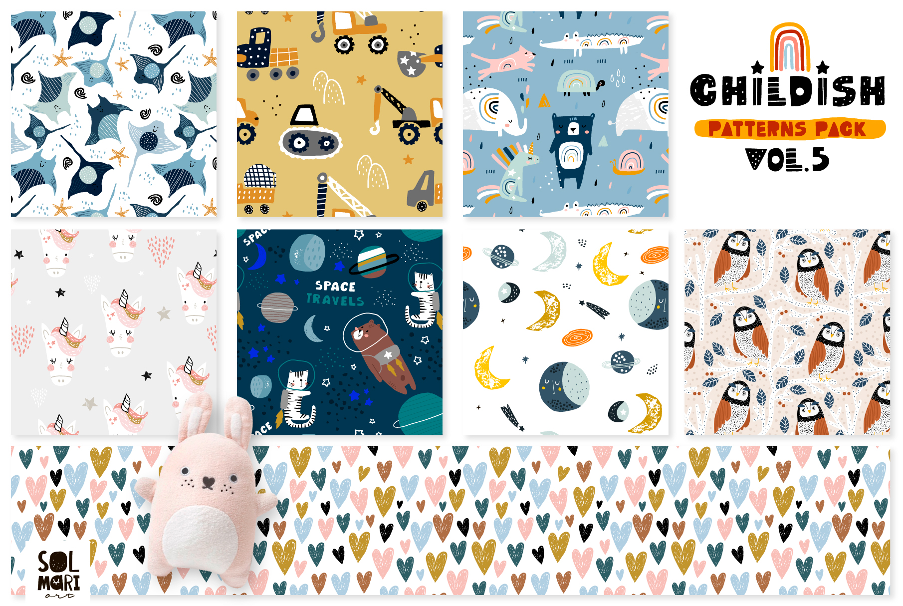 Childish patterns pack vol. 5 example image 4