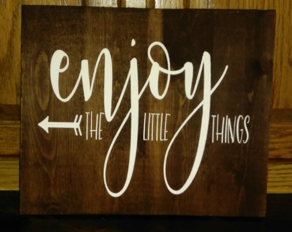 Enjoy the Little Things SVG example image 3