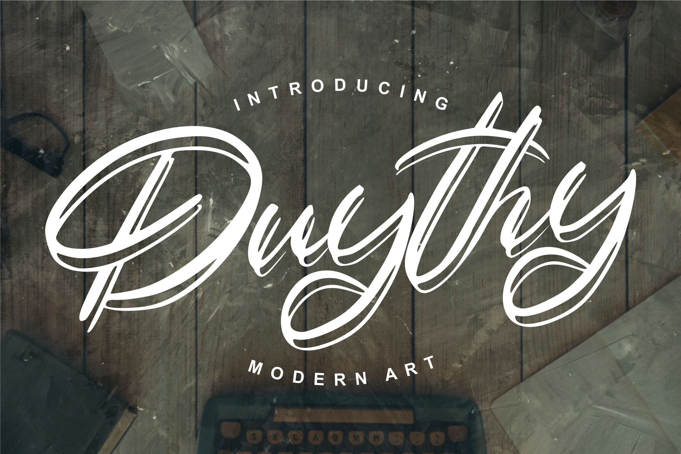 Duythy   Modern Art Font example image 1