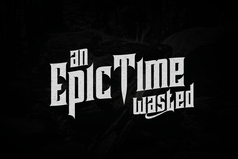 Pindunk Typeface example image 5