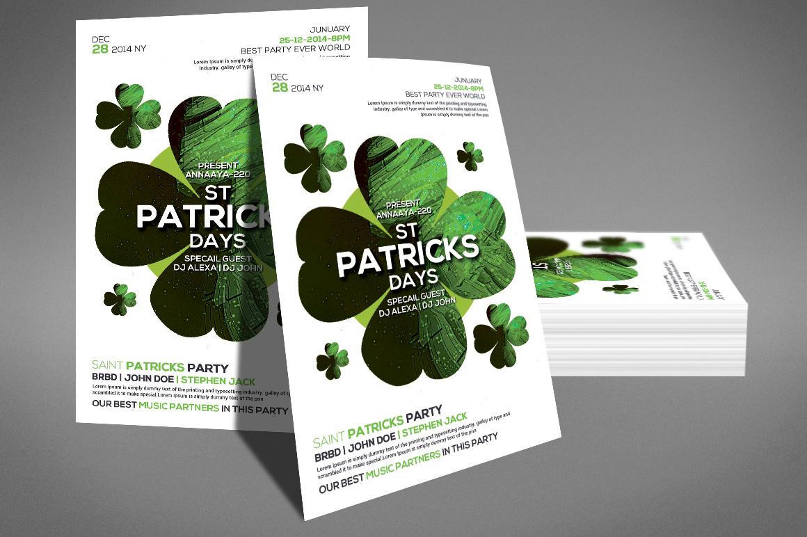 St. Patricks Flyer example image 3