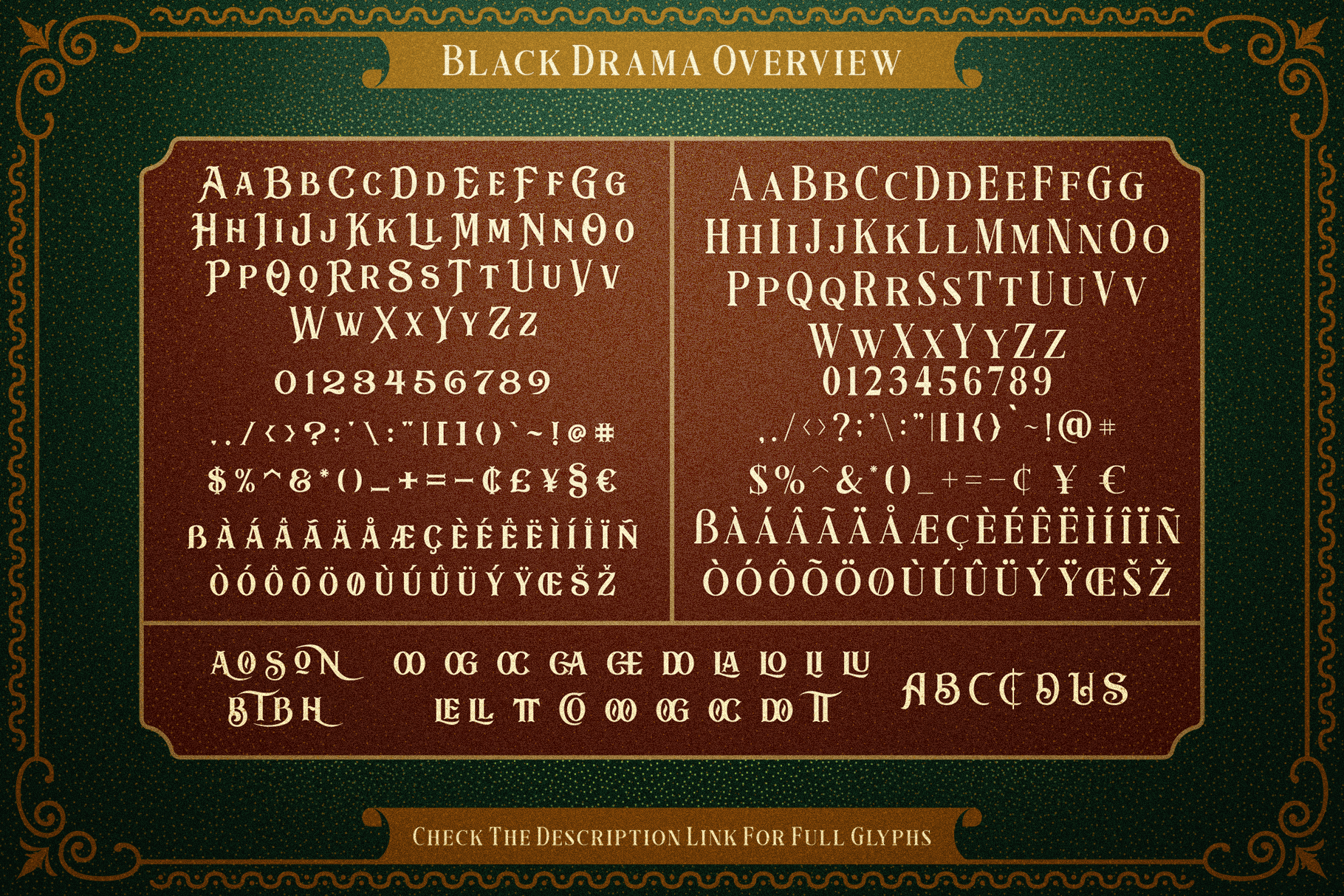 Black Drama Combination  Extras example image 9