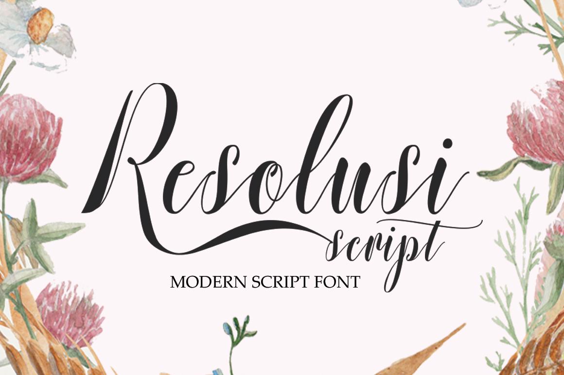 Resolusi Script example image 1