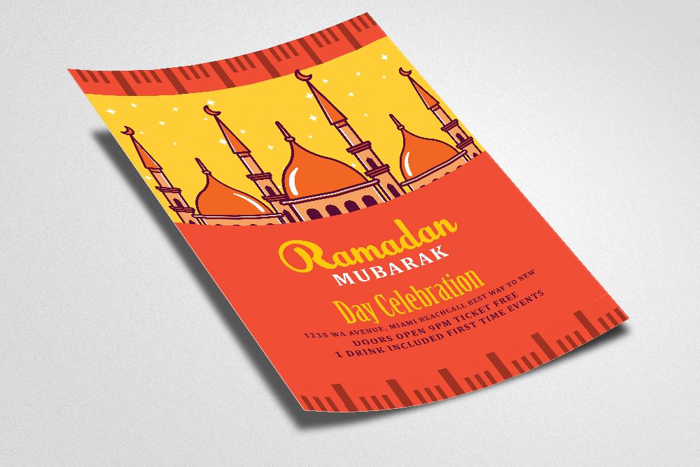 Ramadan Mubarak Flyer example image 2