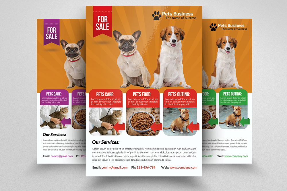 6 Pet Shop Business Flyers Bundle example image 4
