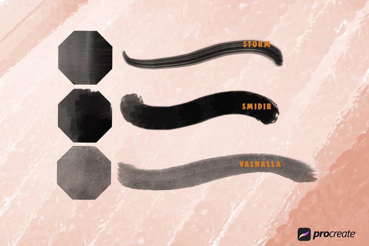 Wild Markers Procreate Brushes example image 6
