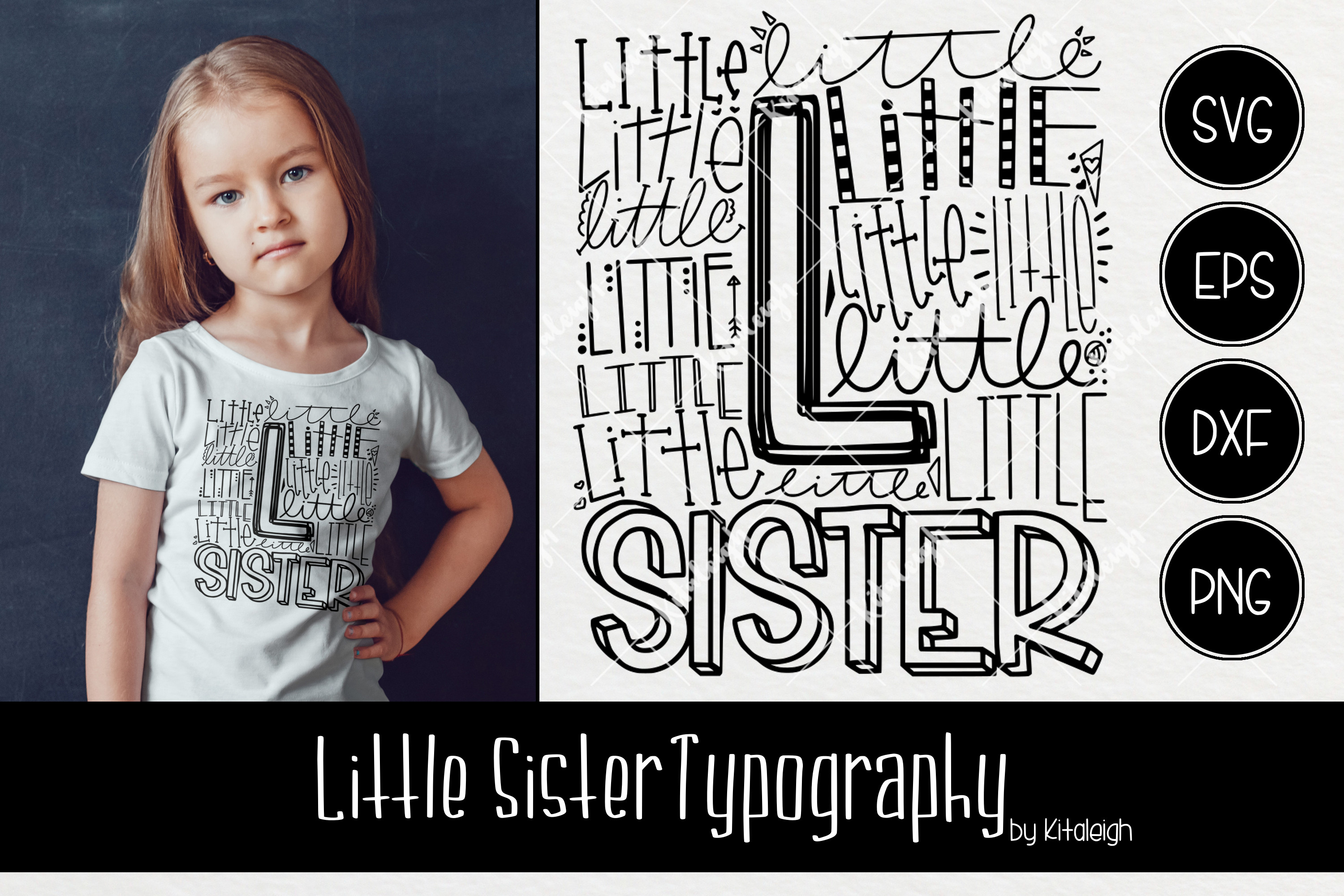 Sibling Typography Bundle example image 7