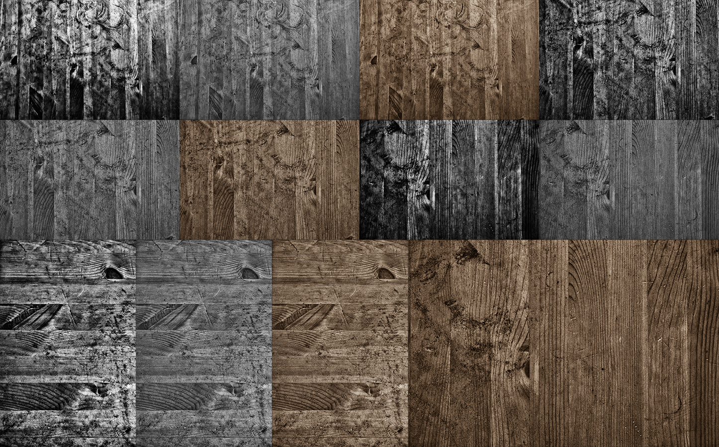 12 files - wooden grunge textures/backgrounds example image 1