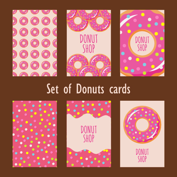 Collection Of Donuts example image 4