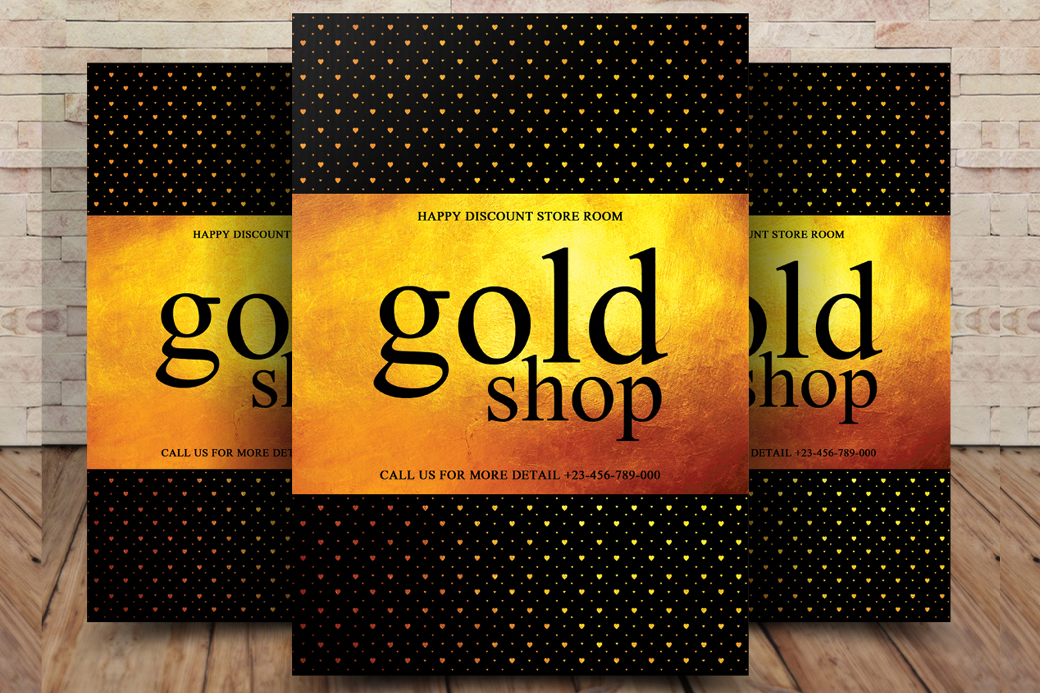 Gold Shop Flyer example image 1