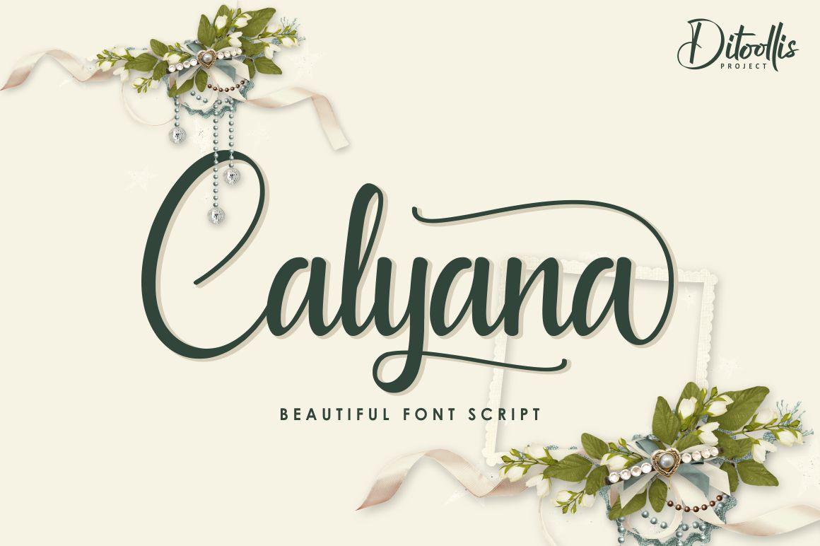 Calyana example image 1