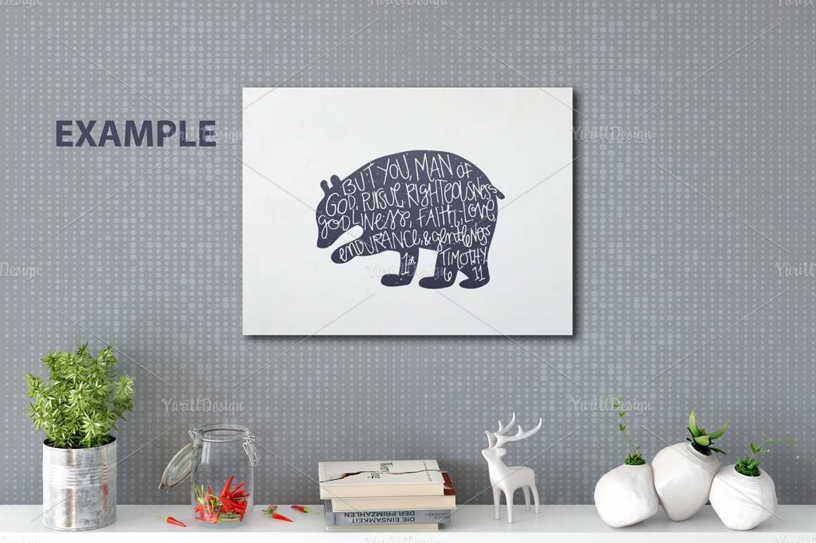 Wall Mockup - Bundle Vol. 1 example image 17