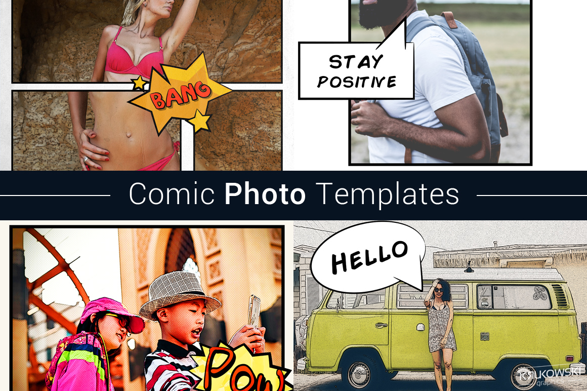 Comic Photo Template example image 1