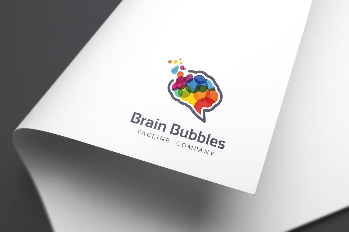Brain Bubbles Logo example image 4