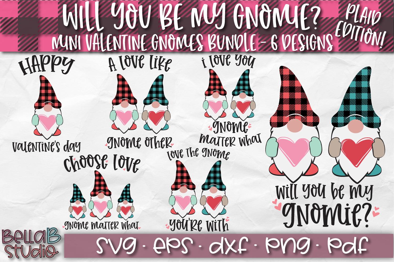 Valentine Gnomes SVG, Valentine's Day Gnomes SVG Bundle example image 1