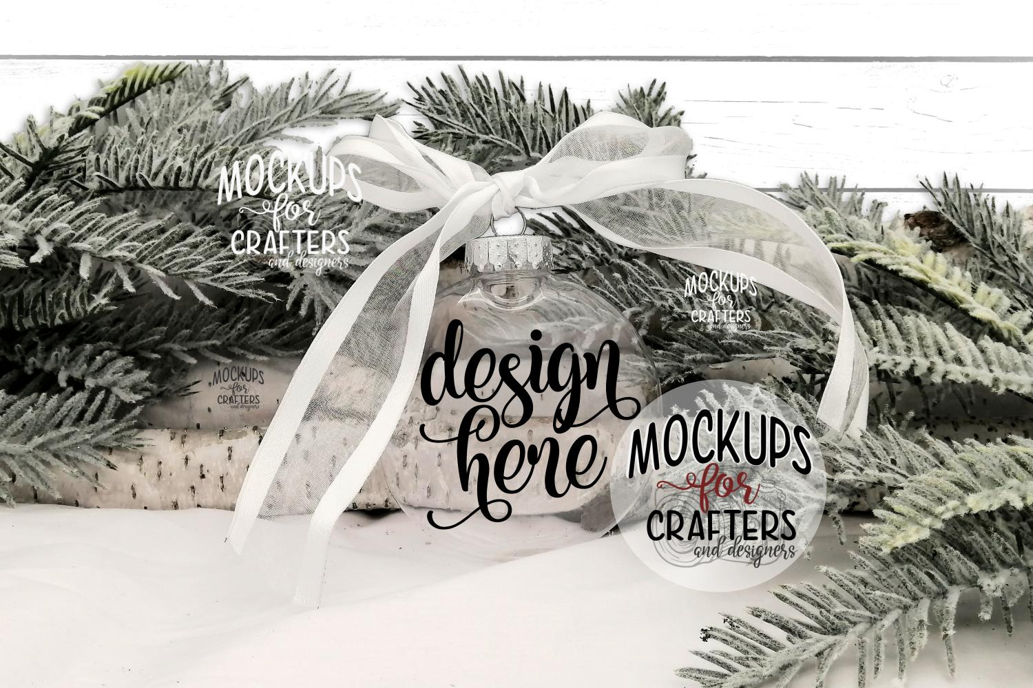 Ornament Bundle #5 - EIGHT ORNAMENT MOCK-UPS example image 9