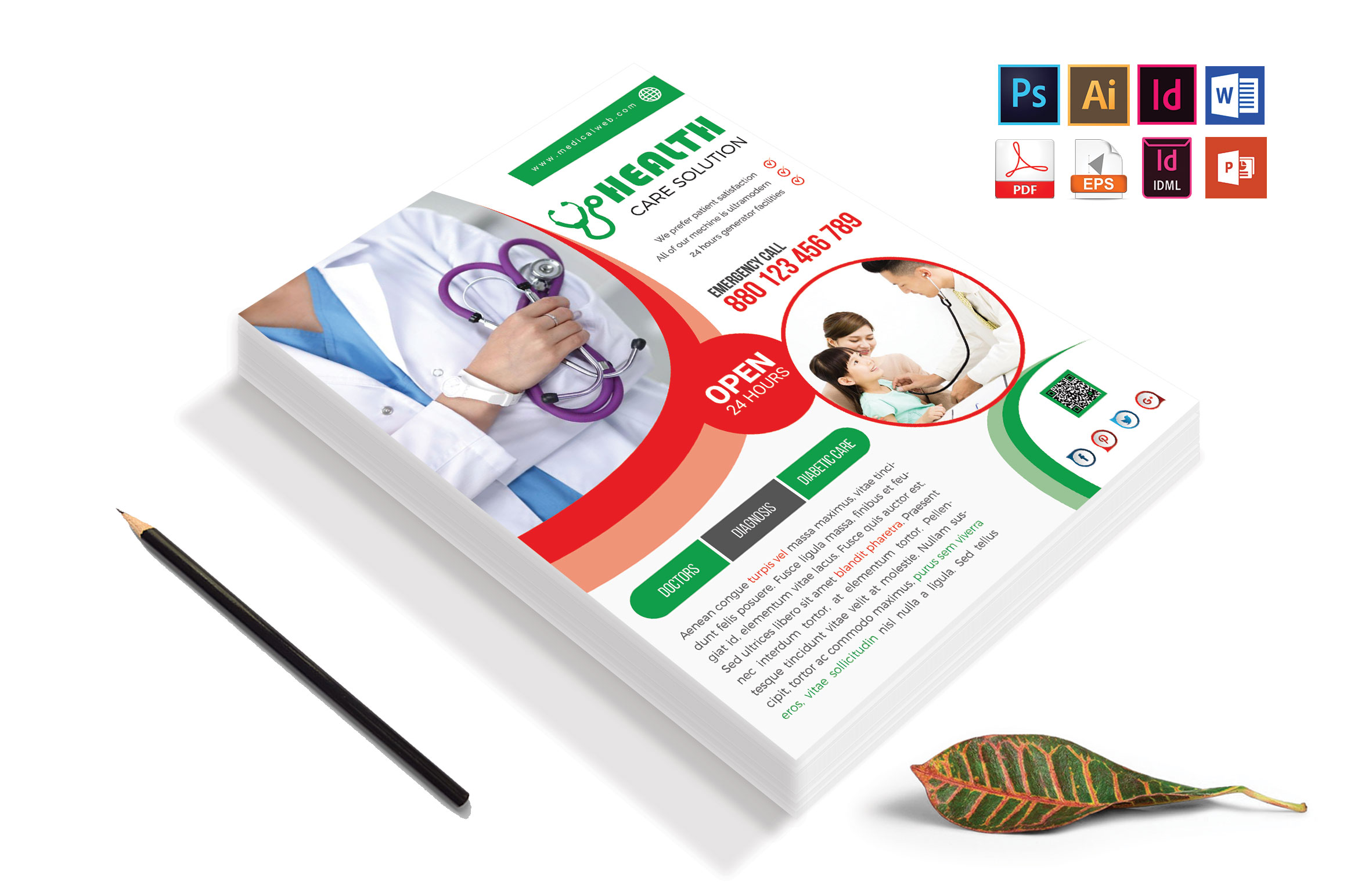 Doctor & Medical Flyer. Vol-05 example image 4