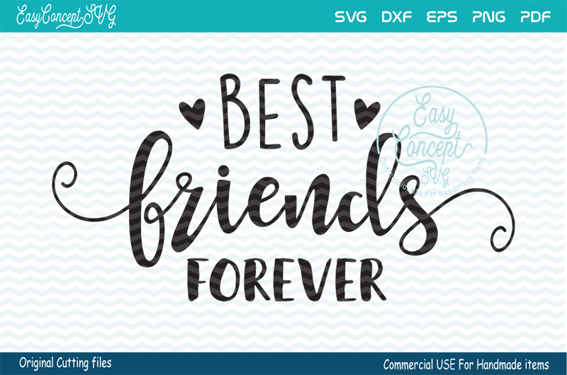 Best Friends Forever SVG, Best Friends Forever, Friends svg example image 1
