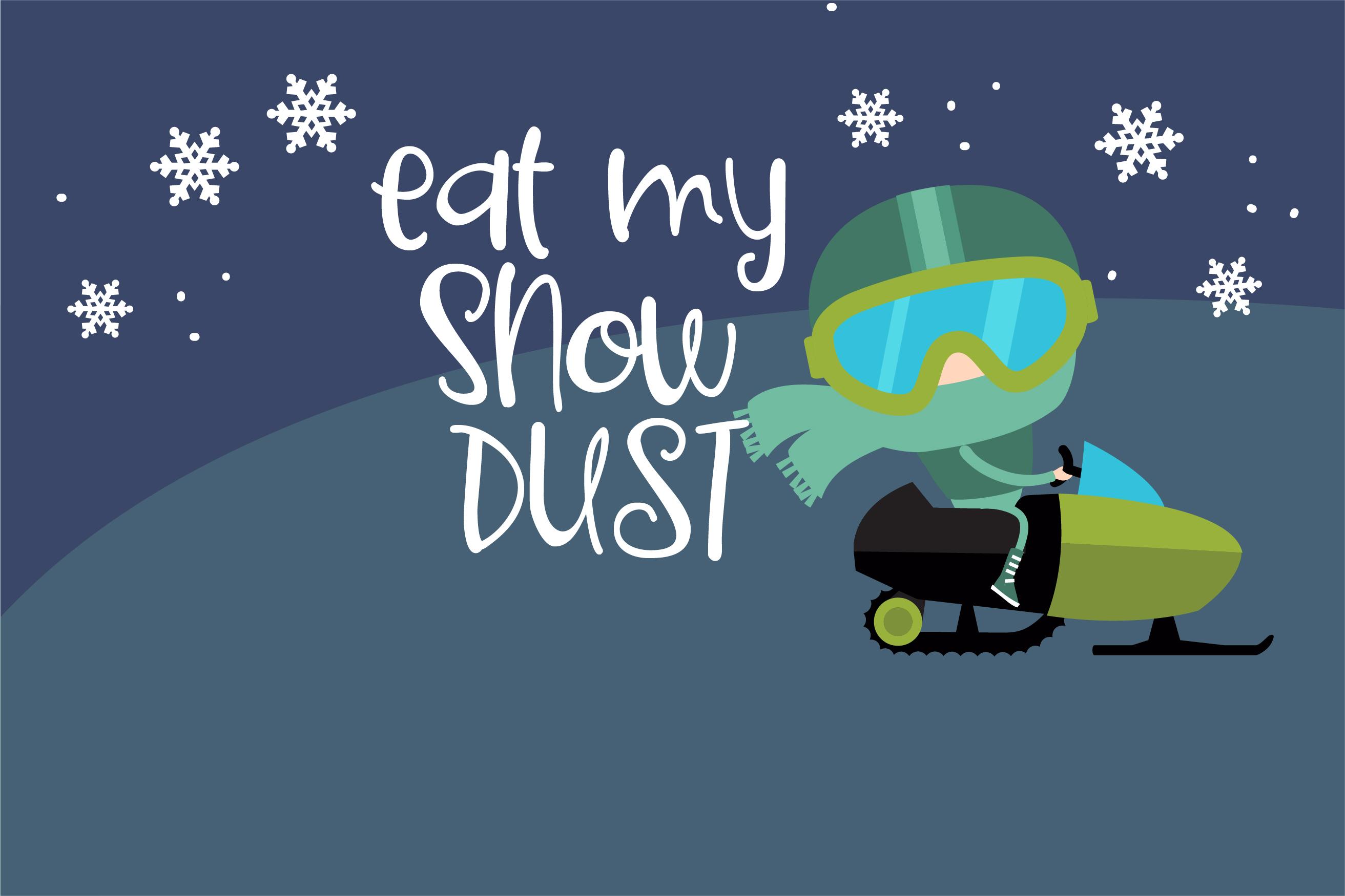 PN Ski-Doozy and Ski-Dazy Font Duo example image 6