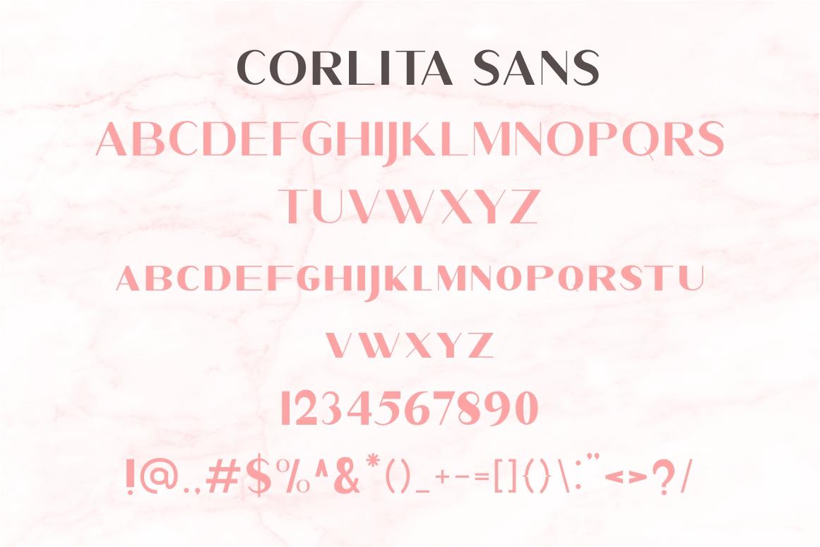 Corlita - Font Trio example image 9