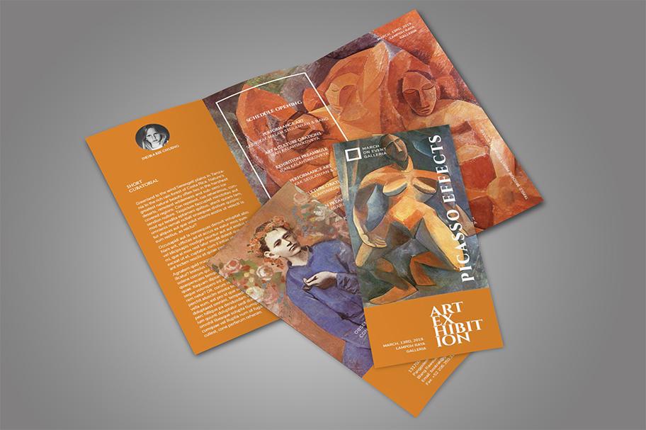 Art Exhibition Brochure example image 6