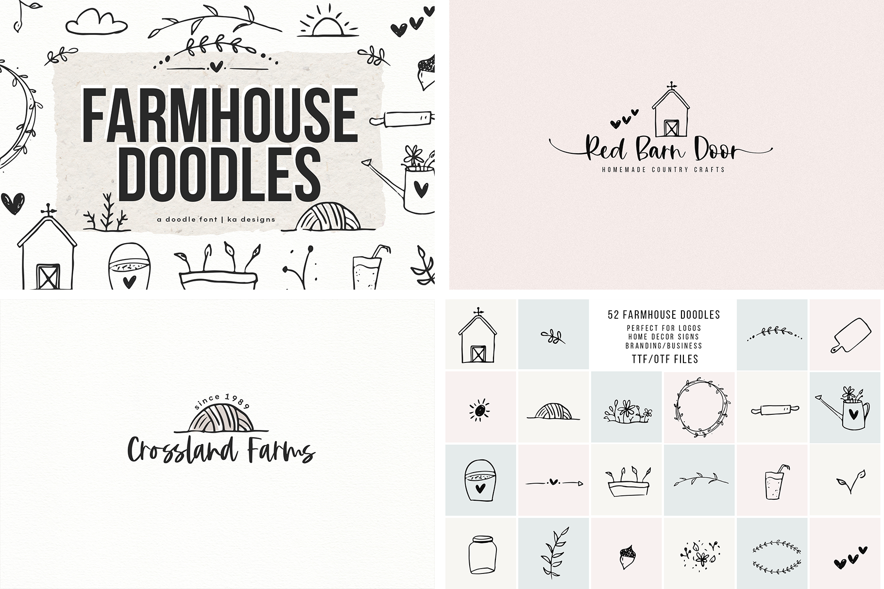Font Bundle - Handwritten Fonts for Crafters! example image 9