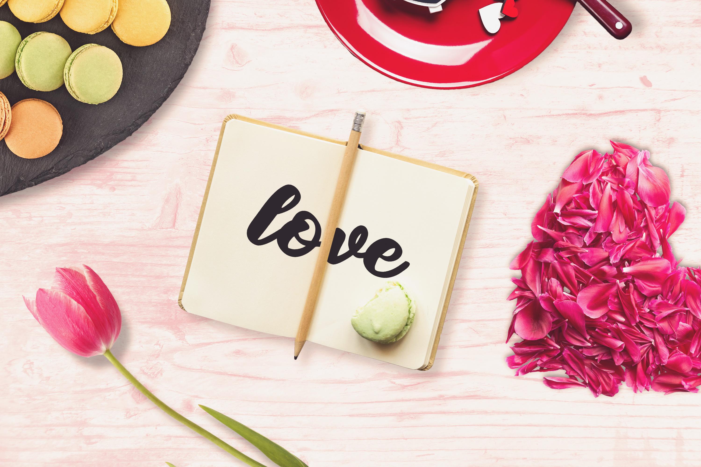 Valentine Note Mock-up #2 example image 1