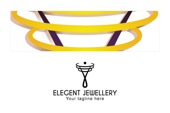 Elegant Jewellery - Creative Iconic Human Figure Stock Logo example image 3