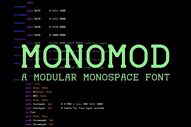 Monomod example image 1
