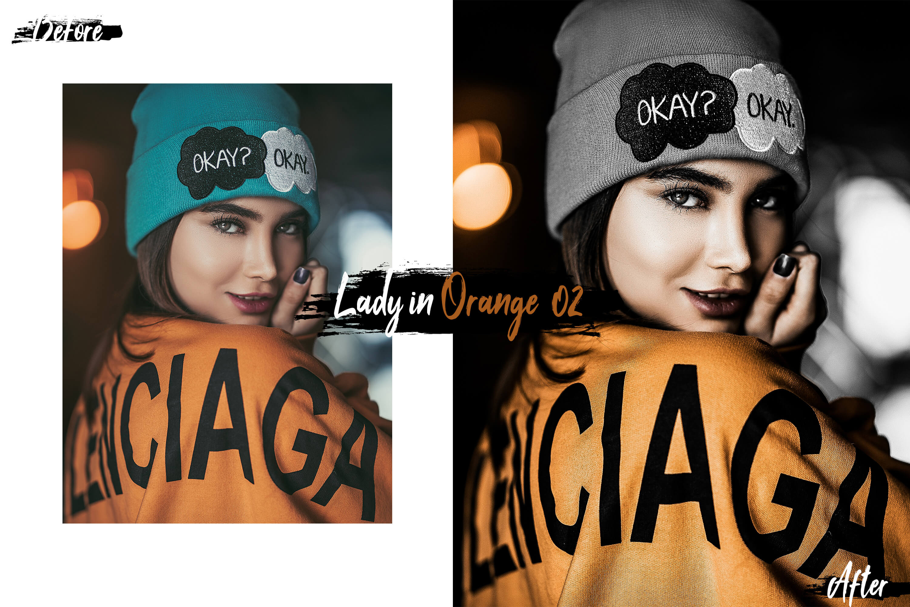 10 Lady In Color Photoshop Actions, ACR and LUT presets example image 6