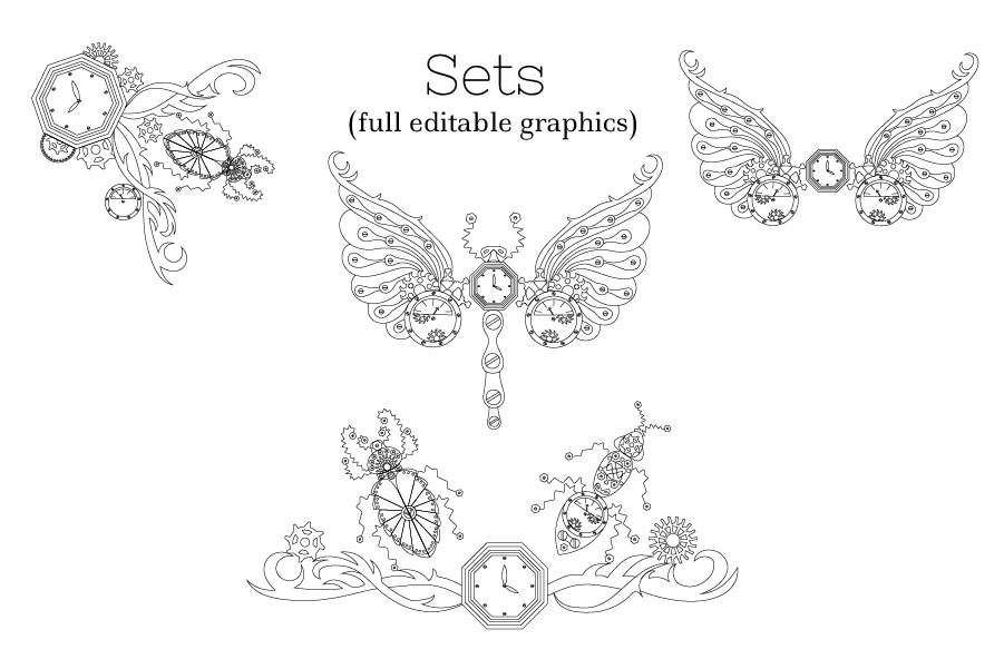 Zenart Steampunk Insects Set example image 4