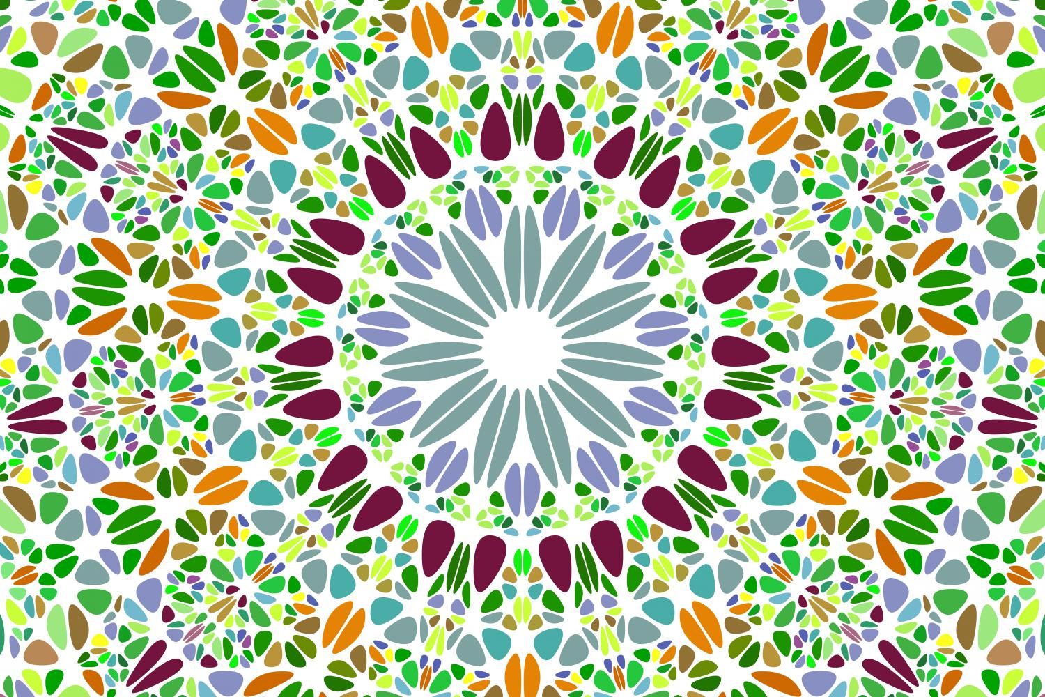 48 Floral Mandala Backgrounds example image 17