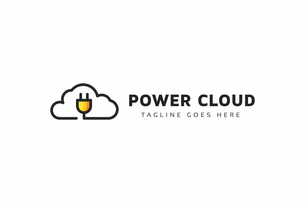 Power Cloud Logo example image 3